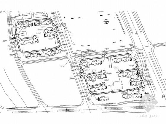 小区道路雨污水管道工程设计图(8张)