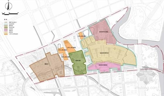 知名片区规划分析图