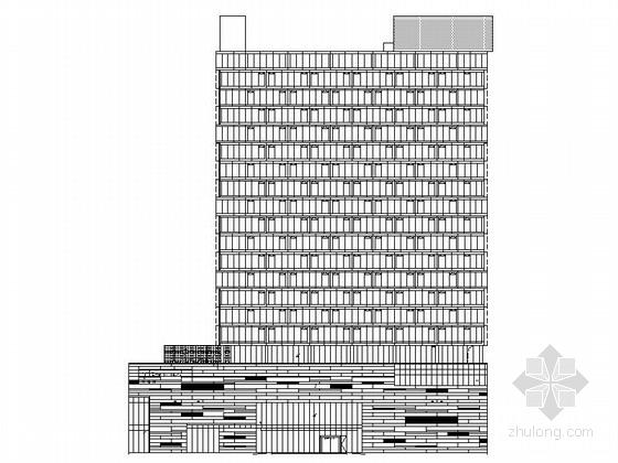 现代风格国际酒店规划方案图