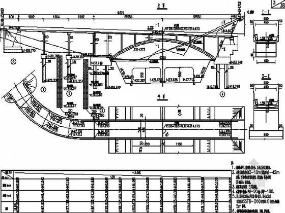 [云南]高速公路机耕天桥施工图32张(现浇板 拱桥)