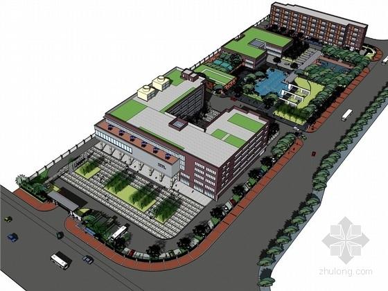[广州]首饰工厂区景观规划设计方案