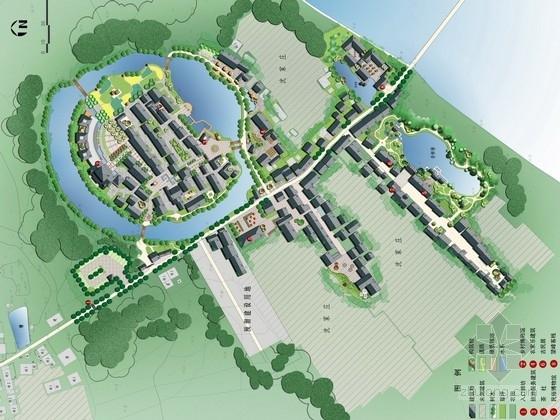 [湖北]生态古风乡镇旅游规划设计方案