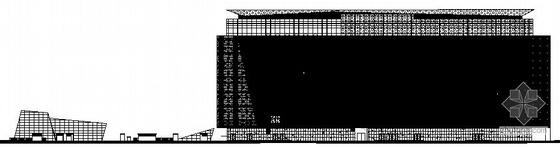 [深圳市]某八层大型商业广场建筑施工图