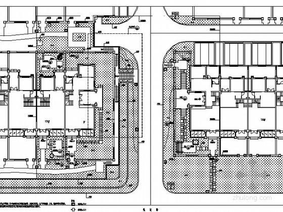 [济南]某国际社区样板区景观工程施工图
