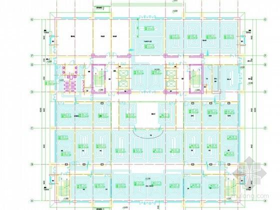 [河北]高层商娱办公综合楼采暖通风及防排烟系统设计施工图(大院出品)
