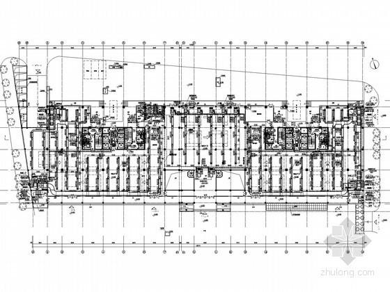[广东]工业厂区综合建筑空调通风及防排烟系统设计施工图(螺杆机组)