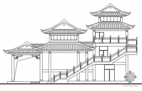 某三层重檐古建施工图
