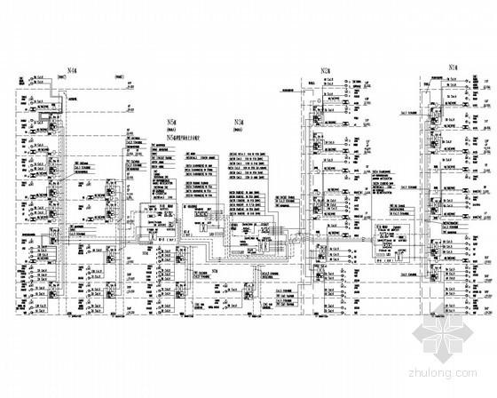 [上海]大型知名金融服务中心弱电施工图纸