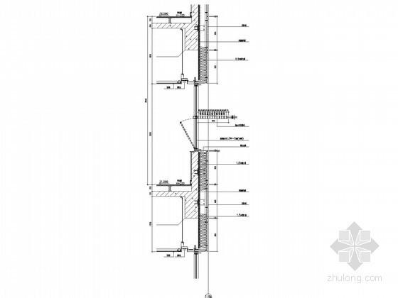 [江苏]37层企业办公楼裙房节点图(上海知名公司设计)