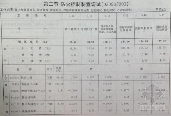 2012北京定额《第九册消防工程》