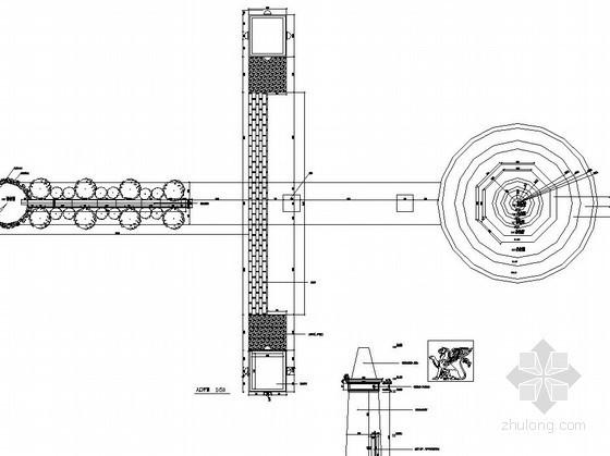 造型入口大门施工图