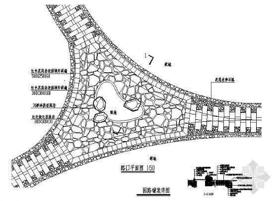 园路铺装详图-4