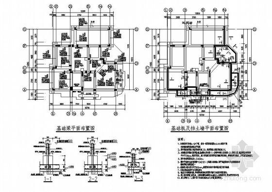 郑州某西班牙风格别墅结构设计图