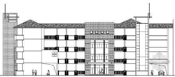 某四层小学教学楼方案设计图