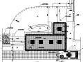 中學校園前廣場園林景觀工程施工圖