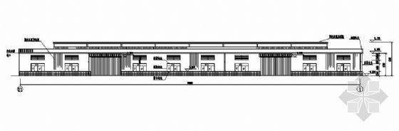 某跨度为24米钢结构厂房建筑结构图纸