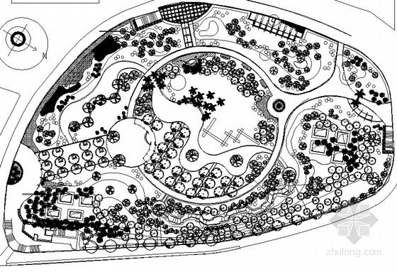 绿地广场设计平面图