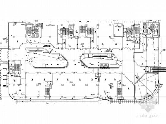 [山东]大型商业中心给排水消防施工图(虹吸雨水 自动扫描射水 高空水炮)