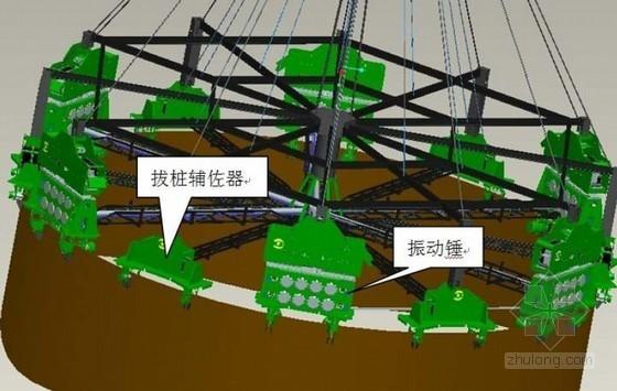 [广东]跨河大桥钢管复合桩及大直径钢管围堰施工方案