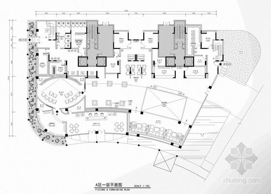 [广东]豪华大宅名邸现代风格售楼处室内设计方案