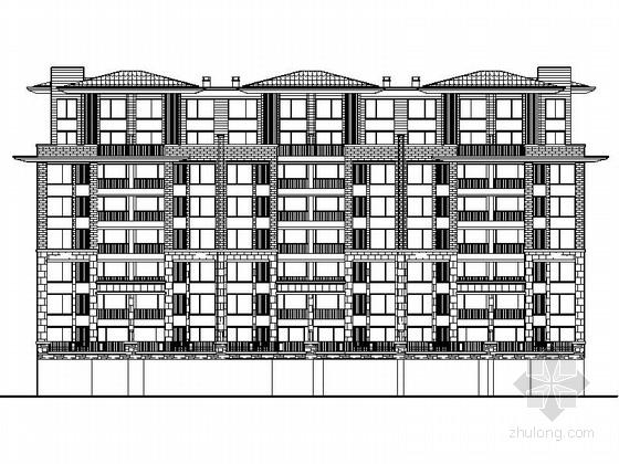 [毕业设计]八层洋房别墅住宅区规划设计施工图