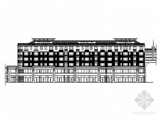 某六层沿街商住楼建筑施工图