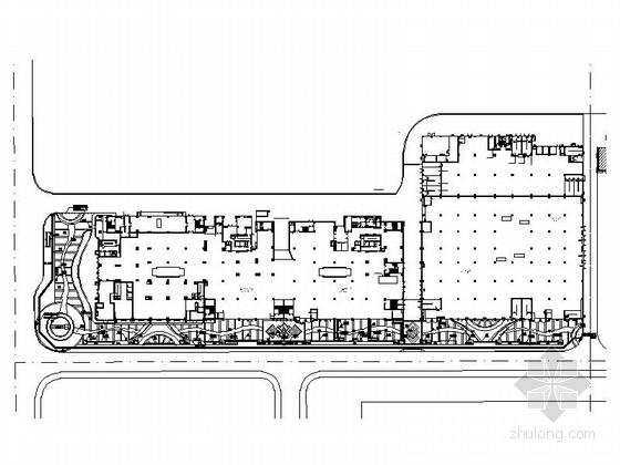 [青海]时尚都市生活广场景观设计施工图