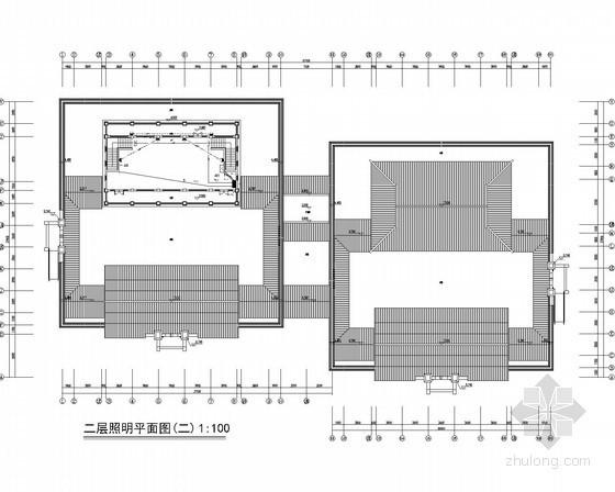 [江苏]高等师范学校新校区电气施工图纸(设计完整 覆盖面广)