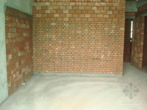 [重庆]高层住宅楼砌体工程施工工艺交底(ppt 图文并茂 样板展示)