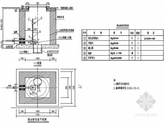 [湖南]城市支路中水管道工程施工图设计23张
