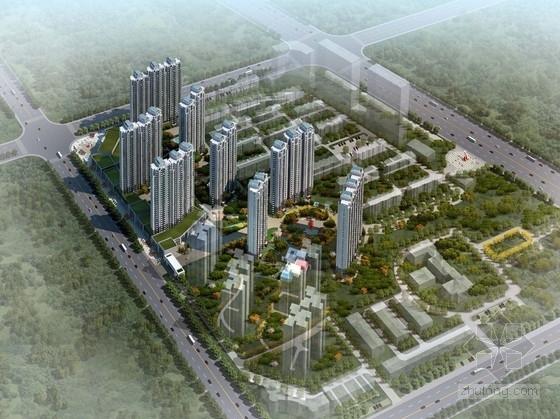 [新疆]欧式古典风格超高层住宅楼设计方案文本