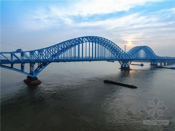 世界级六跨连续钢桁拱桥工程施工动画视频演示(18分钟)
