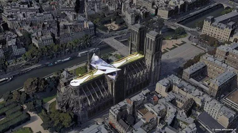 大胆预测圣母院十个改造方案,知名建筑师PK热心网友!