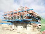 33m宽幅大断面箱梁轻型自走式挂篮整体浇筑施工方案78页(挂篮图纸83张CAD)