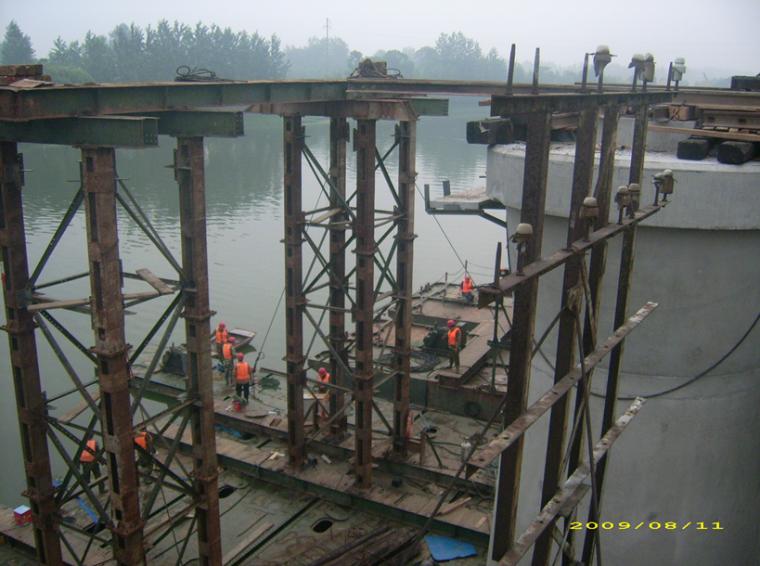 [浙江]铁路枢纽扩建工程运河大桥施工方案(86页)