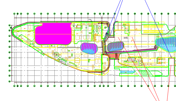 上海轨道交通停车场地块项目商场博物馆幕墙分包工程(共1165页)