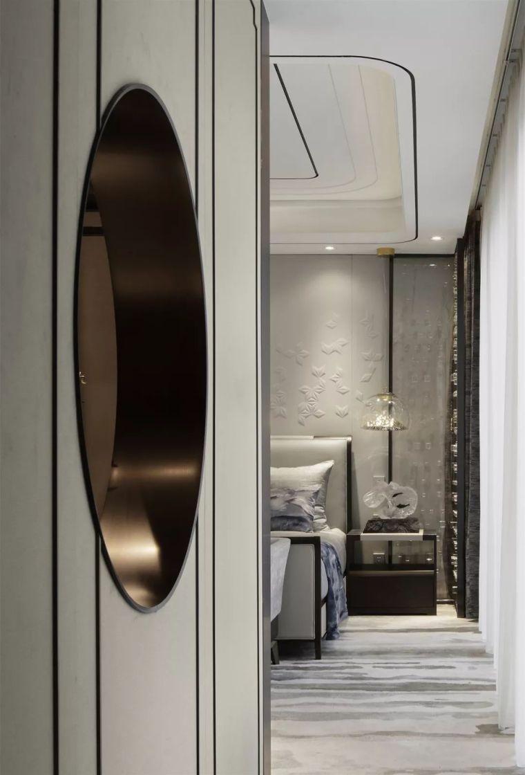质朴材质也能构建空间气质,顶级别墅样板间设计_17