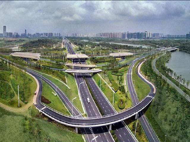[江西]城市快速路综合建设工程施工组织设计197页(道路桥梁雨污水路灯绿化)