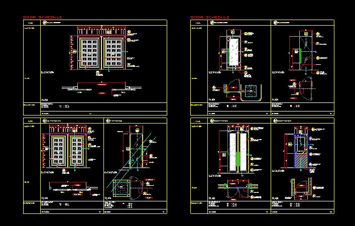 超现代法式餐厅及雪茄吧设计施工图(附效果图)_5