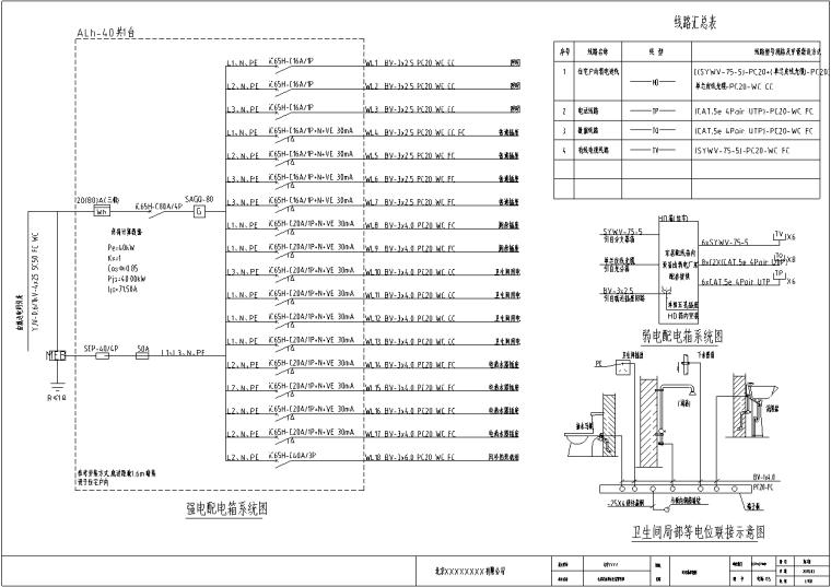 别墅-电气施工图