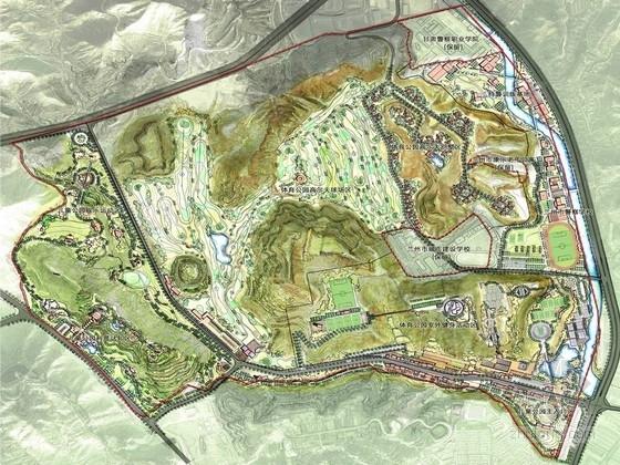 [甘肃]区域性体育主题公园景观规划设计方案