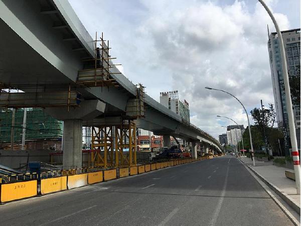 上海桥梁建设采用装配式技术迅速成桥