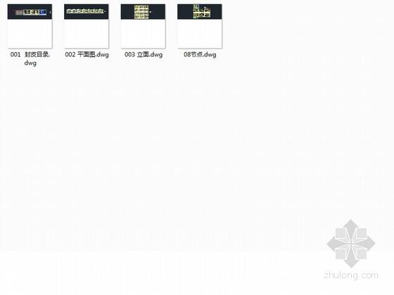 [大连]精装修三室两厅样板间室内装修图 图纸资料总缩略图