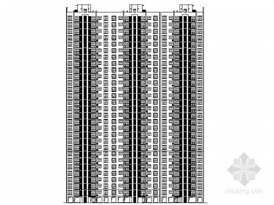 [江西]框架剪力结构住宅区规划设计施工图(知名设计院)