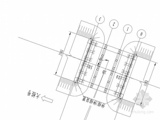 三跨后张法预应力混凝土简支空心板桥施工图43张(摩擦桩基)