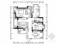 [湖北]现代简约三居室装修施工图(含效果)