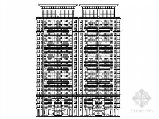[扬州]某国际花园二十四层连板住宅施工图(13号楼)