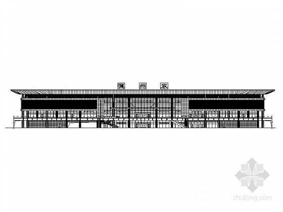 [德州]某高铁站站房综合楼建筑施工图