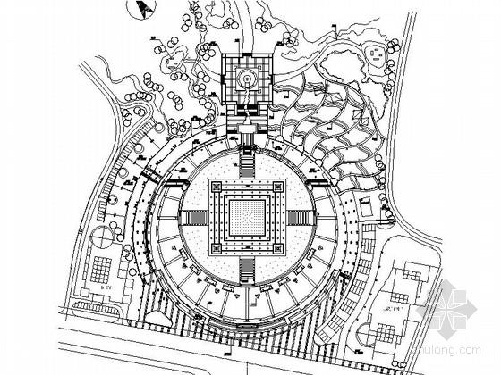 [重庆]时尚广场景观设计施工图
