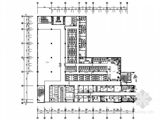 高档中式足疗养生馆设计施工图